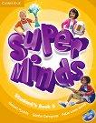 Super Minds - ниво 5 (A2): Учебник по английски език + DVD-ROM -
