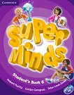 Super Minds - ниво 6 (A2 - B1): Учебник по английски език + DVD-ROM - Herbert Puchta, Gunter Gerngross, Peter Lewis-Jones -