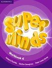 Super Minds - ниво 6 (A2 - B1): Учебна тетрадка + онлайн материали по английски език - учебна тетрадка