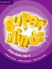 Super Minds - ниво 6 (A2 - B1): 4 CD с аудиоматериали по английски език - Herbert Puchta, Gunter Gerngross, Peter Lewis-Jones -