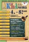 Акълчета: 4., 5., 6., 7. и 8. клас : Национално списание за подготовка и образователна информация - Брой 29 -