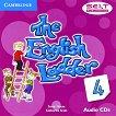 The English Ladder: Учебна система по английски език Ниво 4: 2 CD с аудиоматериали за упражненията от учебника -