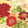 Салфетки - Цветя - Пакет от 20 броя -
