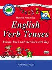 English Verb Tenses: Forms, Uses and Exercises with Key - книга