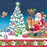 Салфетки за декупаж - Дядо Коледа - Пакет от 20 броя -