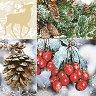 Салфетки - Зима - Пакет от 20 броя