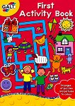 Galt: Моята първа активна книжка със стикери : First Activity Book -