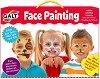 Боички за лице - Комплект от 8 цвята с апликатори -