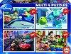 Анимационни герои на Pixar - Четири пъзела -