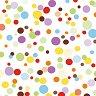 Салфетки за декупаж - Цветни точки - Пакет от 20 броя -