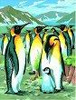 Нарисувай сам шедьовър - Пингвини - Творчески комплект -