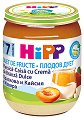 HiPP - Плодов дует от био праскова и кайсия с извара - Бурканче от 160 g за бебета над 7 месеца -