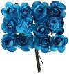 Декоративен елемент - Сини цветя