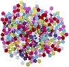 Мъниста - Разноцветни цветя - Опаковка от 50 g -