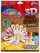 """Паун - От серията """"3D дървени пъзели за оцветяване"""" -"""