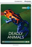 Cambridge Discovery Education Interactive Readers - Level A1+: Deadly Animals - Kenna Bourke -