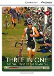 Cambridge Discovery Education Interactive Readers - Level A2: Three in One. The Challenge of The Triathlon - книга