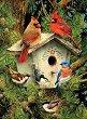 Нарисувай сам картина - Къщичка за птици -