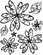 Силиконови печати - Flower Amelia -