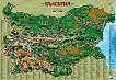 България - туристическа карта в снимки -