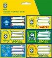 Етикети за тетрадки - Бразилски национален отбор по футбол -
