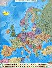 Политическа карта на Европа - M 1:4 000 000 -