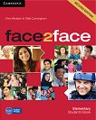face2face - Elementary (A1 - A2): Учебник + DVD : Учебна система по английски език - Second Edition - Chris Redston, Gillie Cunningham - учебна тетрадка
