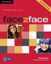 face2face - Elementary (A1 - A2): Учебна тетрадка с отговори : Учебна система по английски език - Second Edition - Chris Redston, Gillie Cunningham -