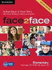 face2face - Elementary (A1 - A2): CD с тестове + aудио CD Учебна система по английски език - Second Edition - учебник