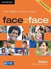 face2face - Starter (A1): 3 CD с аудиоматериали : Учебна система по английски език - Second Edition - Chris Redston, Gillie Cunningham -