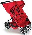 Лятна бебешка количка за близнаци - E3 - С 4 колела -