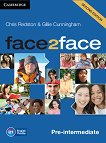 face2face - Pre-intermediate (B1): Class Audio CDs Учебна система по английски език - Second Edition - учебник