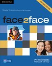 face2face - Pre-intermediate (B1): Учебна тетрадка по английски език : Second Edition - Nicholas Tims, Chris Redston, Gillie Cunningham - учебна тетрадка