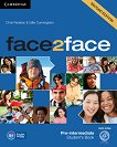 face2face - Pre-intermediate (B1): Учебник + DVD : Учебна система по английски език - Second Edition - Chris Redston, Gillie Cunningham - книга