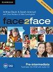 face2face - Pre-intermediate (B1): CD с тестове + aудио CD Учебна система по английски език - Second Edition - книга за учителя