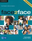face2face - Intermediate (B1+): Учебник + DVD : Учебна система по английски език - Second Edition - Chris Redston, Gillie Cunningham - учебник