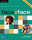 face2face - Intermediate (B1+): Учебна тетрадка по английски език : Second Edition - Nicholas Tims, Chris Redston, Gillie Cunningham - помагало