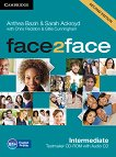 face2face - Intermediate (B1+): CD с тестове + aудио CD : Учебна система по английски език - Second Edition - Chris Redston, Gillie Cunningham, Anthea Bazin, Sarah Ackroyd - продукт