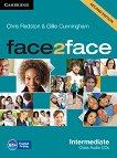 face2face - Intermediate (B1+): Class Audio CDs : Учебна система по английски език - Second Edition - Chris Redston, Gillie Cunningham - продукт