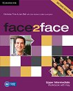 face2face - Upper Intermediate (B2): Учебна тетрадка с отговори : Учебна система по английски език - Second Edition - Nicholas Tims, Chris Redston, Gillie Cunningham, Jan Bell - учебна тетрадка