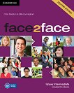 face2face - Upper Intermediate (B2): Учебник + DVD : Учебна система по английски език - Second Edition - Chris Redston, Gillie Cunningham -