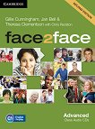face2face - Advanced (C1): Class Audio CDs : Учебна система по английски език - Second Edition - Chris Redston, Gillie Cunningham, Theresa Clementson, Jan Bell -