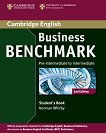 Business Benchmark: Учебна система по английски език - Second Edition : Ниво Pre-intermediate to Intermediate: Учебник - Norman Whitby - книга