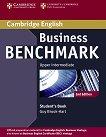 Business Benchmark: Учебна система по английски език - Second Edition : Ниво Upper Intermediate: Учебник - Guy Brook-Hart - помагало