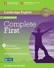 Complete First - Ниво B2: Учебна тетрадка + CD Учебна система по английски език - Second Edition -
