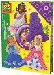 Мозайка с мъниста - Принцеси - Комплект от 1400 броя -