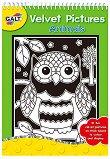 Galt: Животни - книжка за оцветяване с кадифено покритие Animals - Velvet Pictures - детска книга