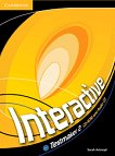 Interactive - ниво 2 (A2+): CD-ROM с тестове по английски език - Sarah Ackroyd -