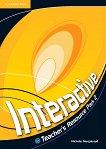 Interactive - ниво 2 (A2+): Книга за учителя с допълнителни упражнения по английски език - Nicholas Murgatroyd -