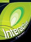 Interactive - ниво 1 (A2): CD-ROM с тестове по английски език - Sarah Ackroyd -